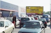 Billboard, Prostějov (hypermarket TESCO)