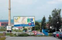 Billboard, Třebíč (Hrotovická ulice)