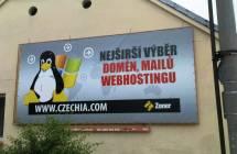 Billboard, Brno - Chlice (Chrlické náměstí)