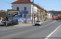 Billboard, Plzeň - Doudlevce (Zborovská / Májová)