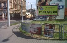 331067 Billboard, Plzeň (Malická x O. Beníškové )