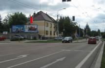 Billboard, Plzeň - Slovany (Nepomucká / Jasmínová)