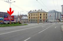 Billboard, Jihlava (Fritzova/Havlíčkova)