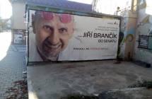 Billboard, Brno - střed (Milady Horákové)