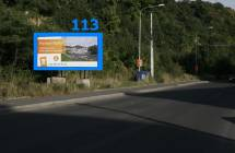 Billboard, Teplice (Pražská)
