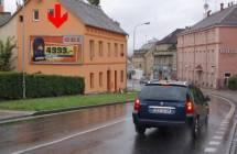 Billboard, Karlovy Vary (Studentská, příjezd)