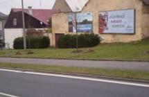 Billboard, Chodová Planá (Průtah městem)