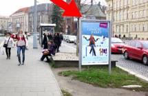 Cityboard, Olomouc (tř. Svobody/Čs.spořitelna, ZC, zast.MHD)