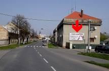 801128 Billboard, Kojetín (Kroměřížská 2, sm. Olomouc)