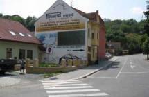 Billboard, Třebíč (ulice Kateřiny z Valdštejna)