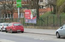 Billboard, Praha 3 -Žižkov (Koněvova)