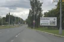 Billboard, Plzeň (Lidická)