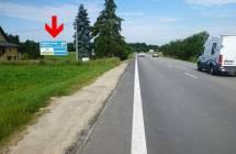 Billboard, Jindřichův Hradec (Otín - příjezd)