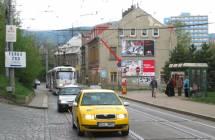 Billboard, Liberec (Hanychovská,spodní,z centra)