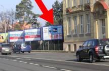 Billboard, Olomouc (Foerstrova, E 442, hl.tah Brno, OV - HK  )