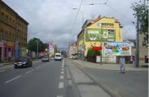 Billboard, Plzeň - Slovany (Slovanská - Klášterní)