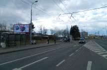 331142 Billboard, Plzeň (Borská)