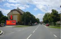 Billboard, Plzeň - Slovany (Částkova x Kyjevská)