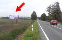 Billboard, Prostějov (Brněnská, tah Brno - Prostějov   )