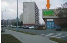 Billboard, Plzeň (Komenského / Sokolovská)