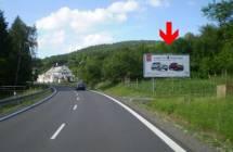 Billboard, Luhačovice (Horní Lhota - výjezd )