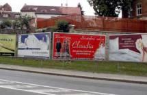 Billboard, Třebíč (Bráfova ulice)