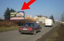 Billboard, Olomouc (Šlechtitelů - zóna firmy + velkoobchody      )
