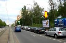 Billboard, Praha 3 (Koněvova)