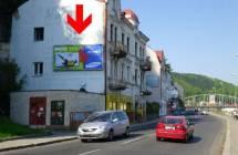 Billboard, Děčín (Labské nábřeží, sm. centrum)