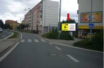 331281 Billboard, Plzeň - Doubravka (Zábělská x Masarykova)