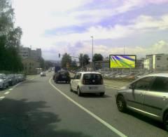 1261021 Billboard, České Budějovice (Rudolfovská,příj. od E49,Brna,)