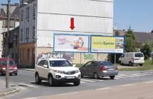 Billboard, Plzeň - Jižní Předměstí (Přemyslova x Kalikova)