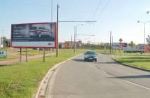 Billboard, Opava (Těšínská)