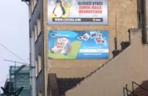 Billboard, Brno - Královo Pole (Palackého třída)