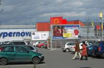 Billboard, Ostrava (OC AVION Shopping Park Ostrava)