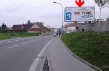 Billboard, Brno (Sokolova 1. směr Hněvkovského)
