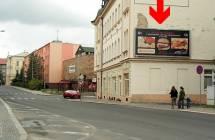 Billboard, Chomutov  (Riegrova)