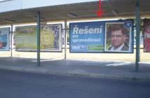 Billboard, Plzeň (Husova ul., CAN)