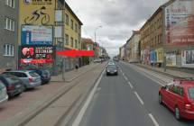 Billboard, Plzeň (Slovanská)