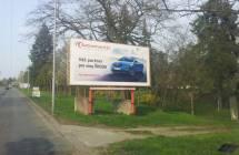 Billboard, Brno - Lesná (Seifertova)
