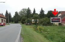 611036 Billboard, Telč  (Jihlavská, příjezd )