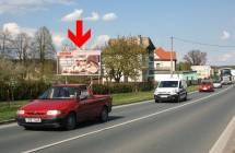 Billboard, Plzeň (Líně 4, příjezd od Domažlic  )