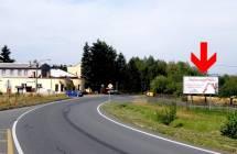 Billboard, I/19 - Borovno (směr Plzeň)