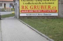 Billboard, Vyškov (křižovatka Žižkova a Tržiště)