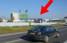 Billboard, Šumperk (Jesenická, hl. tah Olomouc - Jeseník)