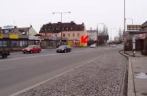 Billboard, Olomouc (Tovární 1, směr centrum)