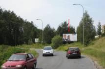 Billboard, Liberec (Kunratická 1,sm.centrum)