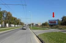 331327 Billboard, Plzeň - Karlov (Borská)