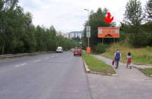 Billboard, Liberec (Letná/Londýnská )