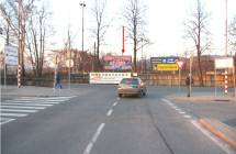 Billboard, Liberec (Polní/Letná, Kaufland/OBI)